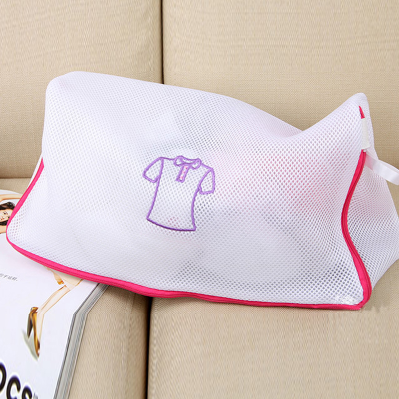 Laundry Washing Mesh Net Zipped Lingerie Underwear Bra Sock Clothes Wash Bags S1