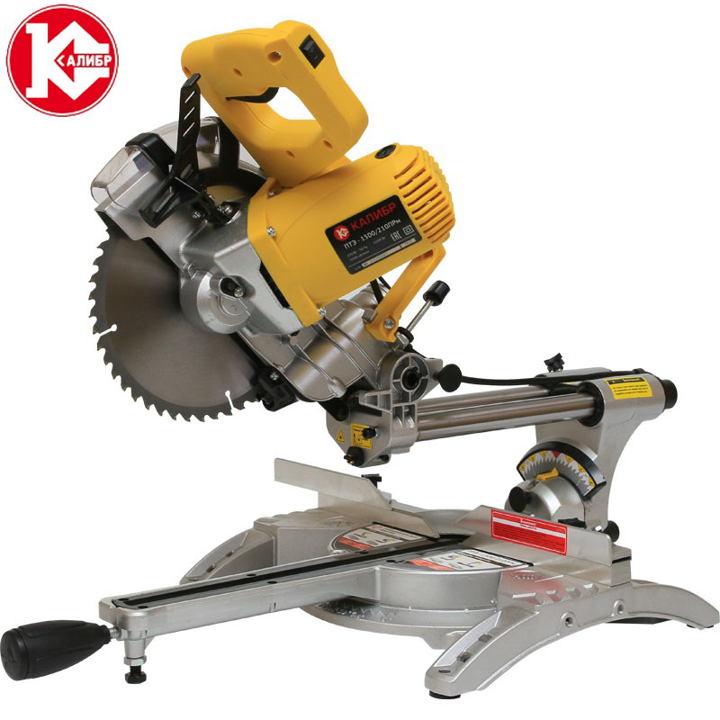 Kalibr PTE-1500/210PRm mitre saw for aluminum used cutting saw machine, laser miter saw
