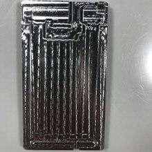 Dla 6S/6S Plus przód/tył dwustronna forma aluminiowa pozycjonowanie LCD ogrzewanie polaryzator Film usuwanie ekranu LCD czyszczenie