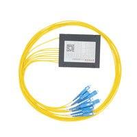 1 8 Optical Fiber Splitter 1 8 FTTH Fiber Splitter Cable Branching Device Single Mode SC