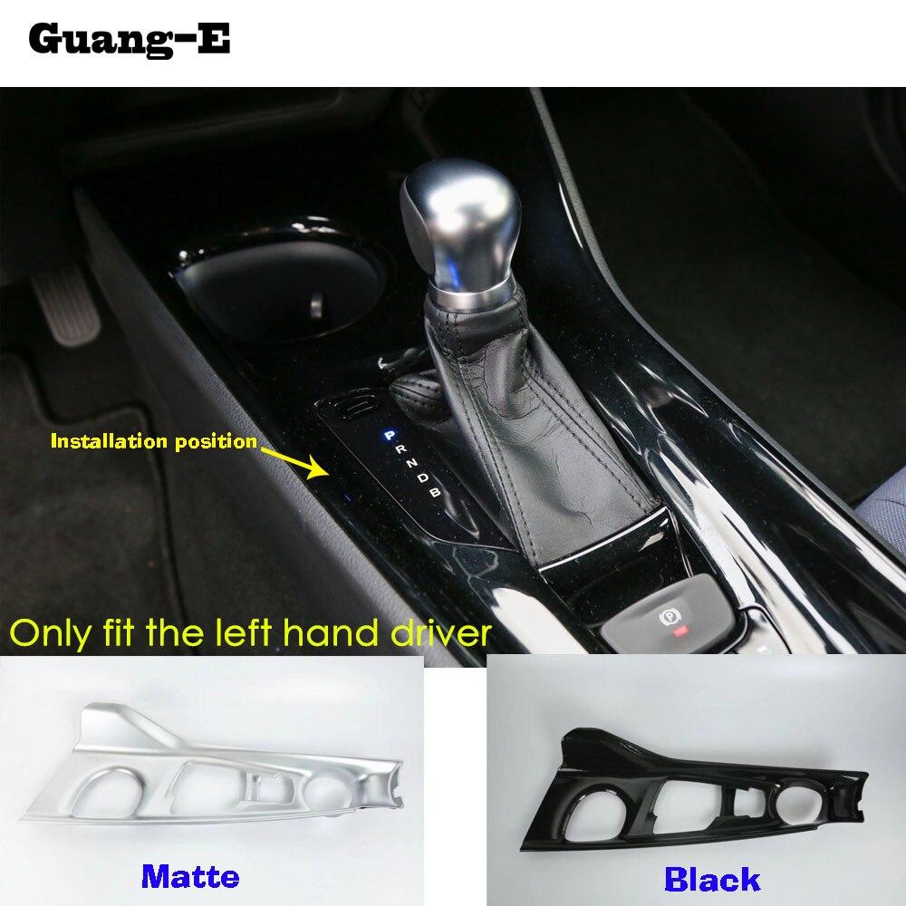 ᗑCubierta del coche ABS cromo interior shift pad taza interruptor ...
