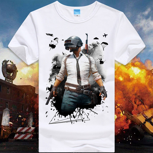 86054e94be Pubg T Shirts For Men Game Playerunknown S Battlegrounds Male T