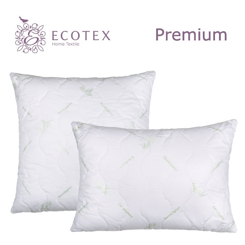 Pillow Eucalyptus collection Premium. Production company Ecotex(Russia). pillow argo collection premium production company ecotex russia