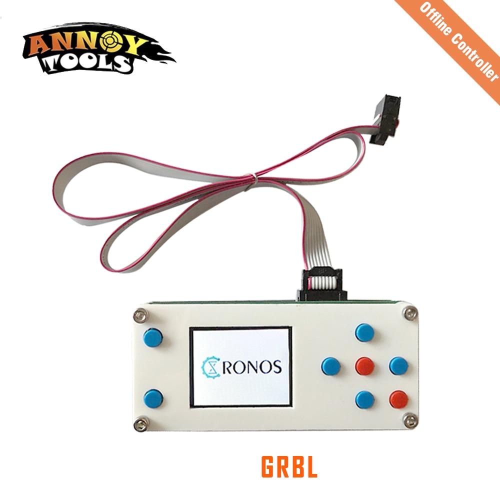 GRBL Offline Placa Controladora 1.8 polegada 3 Offline do Eixo Controlador CNC Para 1610/2418/3018 a laser Máquina de Moagem máquina de gravura