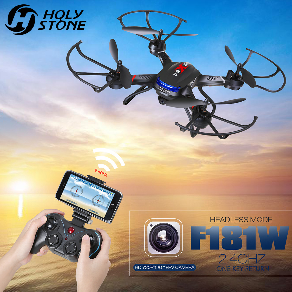 Holy Stone F181W Wifi FPV Drone with 720P Wide-Angle HD Camera Live Video RC Quadcopter Altitude Hold Gravity Sensor FunctionHoly Stone F181W Wifi FPV Drone with 720P Wide-Angle HD Camera Live Video RC Quadcopter Altitude Hold Gravity Sensor Function