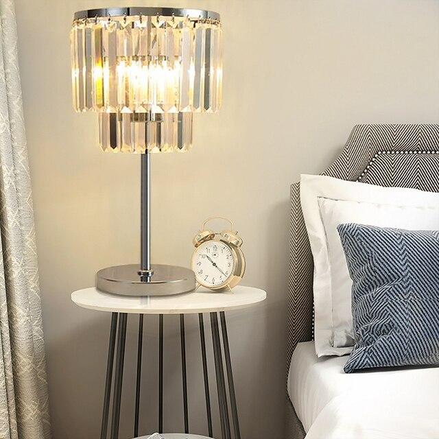 Aliexpress.com : Buy Minimalist Warm Bedroom Beside K9 Crystal Table ...
