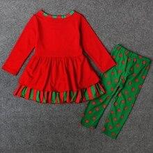 Christmas Girls Clothing Set 2pcs Set