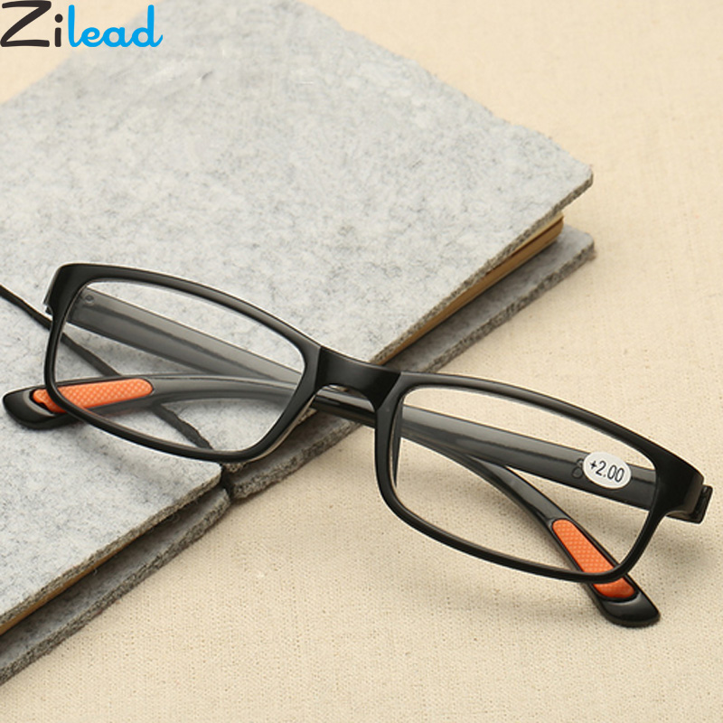 Zilead Ultra Light Reading Glasses Brand Women&Men Presbyopia Eyewear Glasses +1.0 +1.5 +2.0 +2.5 +3.0 +3.5 +4.0 image