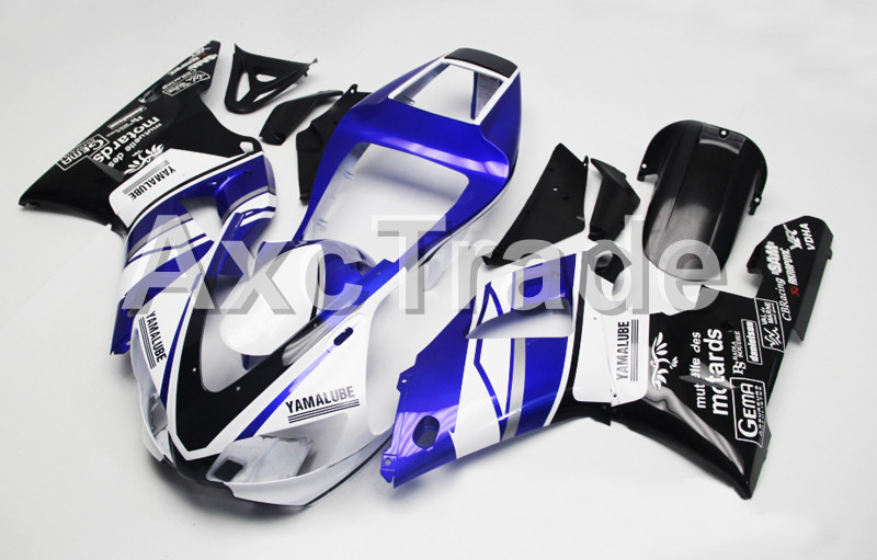 Motorcycle Fairings Kits For Yamaha YZF1000 YZF 1000 R1 YZF-R1 1998 1999 98 99 ABS Injection Molding Fairing Bodywork Kit B103 custom motorcycle fairing kit for kawasaki ninja zx9r 1998 1999 zx9r 98 99 black flames blue abs fairings set 7 gifts sg10