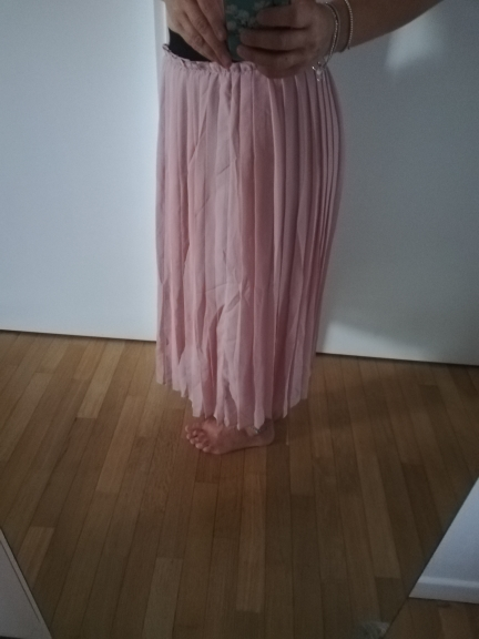 Toyouth Chiffon Skirts Women High Elasticity Waist Pleated Long Summer Skirt Casual Faldas Mujer 2018 Solid Midi Saias S~XL