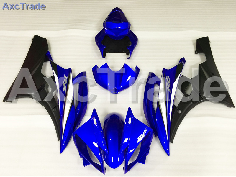 Motorcycle Fairings Kits For Yamaha YZF600 YZF 600 R6 YZF-R6 2006 2007 06 07 ABS Injection Fairing Bodywork Kit Blue A429 hot sales yzf600 r6 08 14 set for yamaha r6 fairing kit 2008 2014 red and white bodywork fairings injection molding