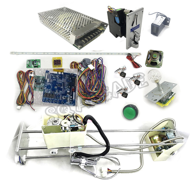 Crane Machine Kit All Components w/ Manual High Quality Blue Board Complete Kit