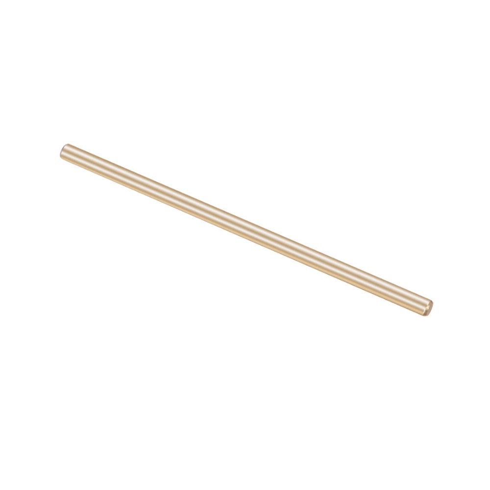 Uxcell 1Pcs Length 50mm/60mm Diameter 3mm Brass Shaft Round Rod Brass Tone For DIY Toy RC Car Helicopter Model Part