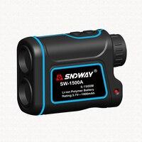 SNDWAY Telescope Laser Rangefinders Distance Meter Digital 8X 1500M Monocular Hunting Golf Laser Range Finder