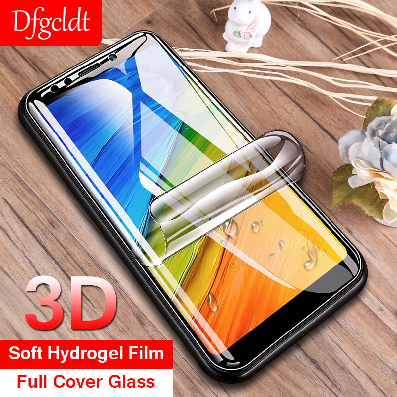3D Soft Hydrogel Film Full Cover for Xiaomi 8 SE 6 6X 5X Redmi 5 Plus Note 5 4X 6 Pro 6A S2 Screen Protector Protective No Glass(China)