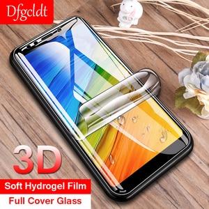 Hidrogel 3D Macio Filme Cobertura Completa para Xiaomi Redmi 8 SE 6 6X 5X 5 Plus Nota 5 4X 6 pro 6A S2 Nenhum Vidro Protetor de Tela de Proteção