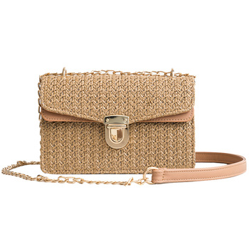 Women Summer Beach Straw Bags Bohemian Travel Casual Female Messenger Bag Mini Fashion Ladies Weave Rattan Shoulder Bag SS3081 Сумка