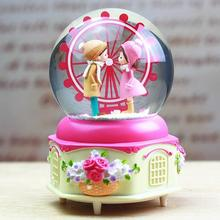 Carillon Scatole Musicali Ballerina Mechanism Carrossel Snow Globe De Musica Carousel Boite A Musique Caja Musical Music Box