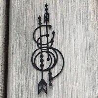 ArtScrap Ethnics Ornament For Metal Cutting  Stencils For DIY Scrapbooking Card Decorative Craft Embossing Die Cuts   Art: 57 Cutting Dies Home & Garden -