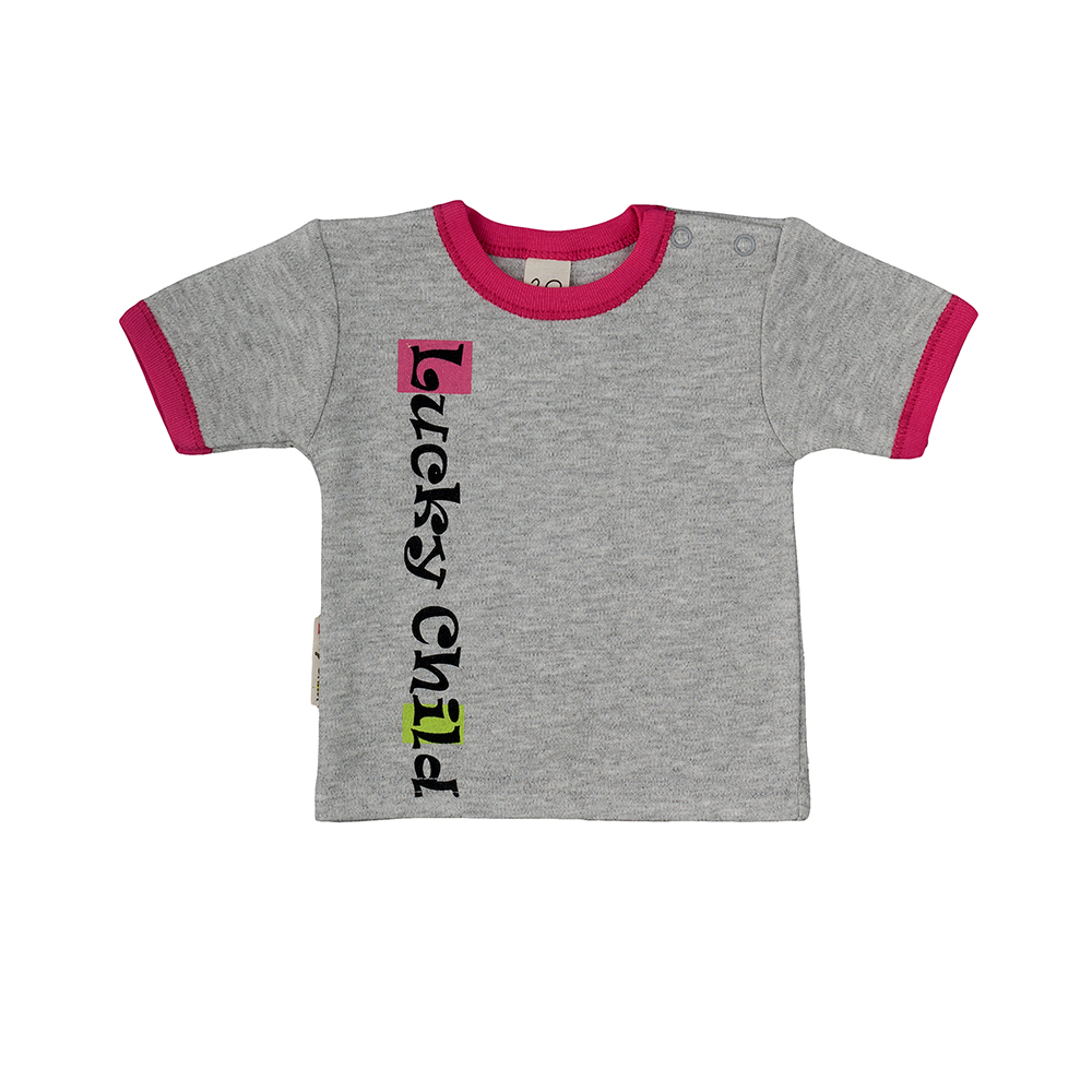 T-Shirts Lucky Child for girls 1-26D Top Kids T shirt Baby clothing Tops Children clothes muhammad ali t shirt for girl box boxing girls t shirts