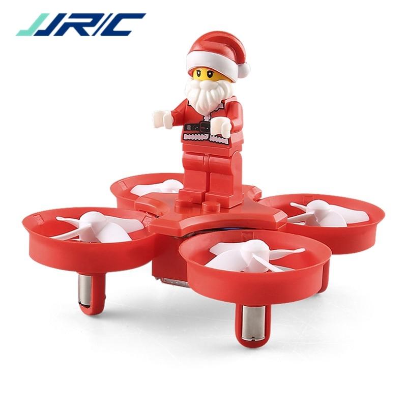 JJRC H67 Flying Santa Claus w/canciones de Navidad RC Quadcopter Drone RTF juguetes para niños mejor regalo VS h36 Eachine E011C E010
