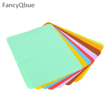 New Modern Pvc Multicolor Rectangle Geometry Place Meal Mats & Pads Table Kitchen
