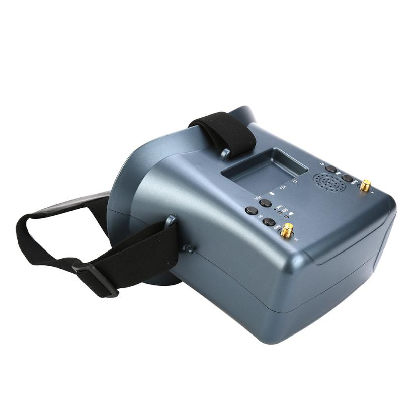LS-008D 5.8G FPV Googles 40CH With 2000mA Battery DVR Diversity For RC Model IUNEED TOY Store sky 708 40ch 7 monitor hdmi input and diversity rx dvr ppm function