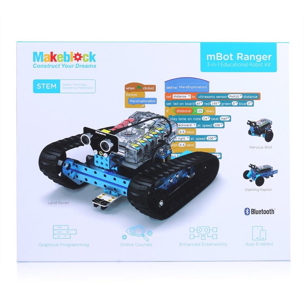 Makeblock Mbot Ranger 3 In 1 Robotics Transformable Stem Educational