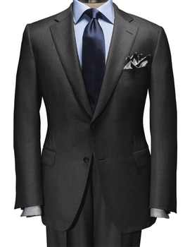 2019 Dark Grey Nailhead Suit Is A Modern Essential For Year-Round Wear Custom Made Slim Fit Men Suits Business Suits Bestseller - DISCOUNT ITEM  0% OFF All Category