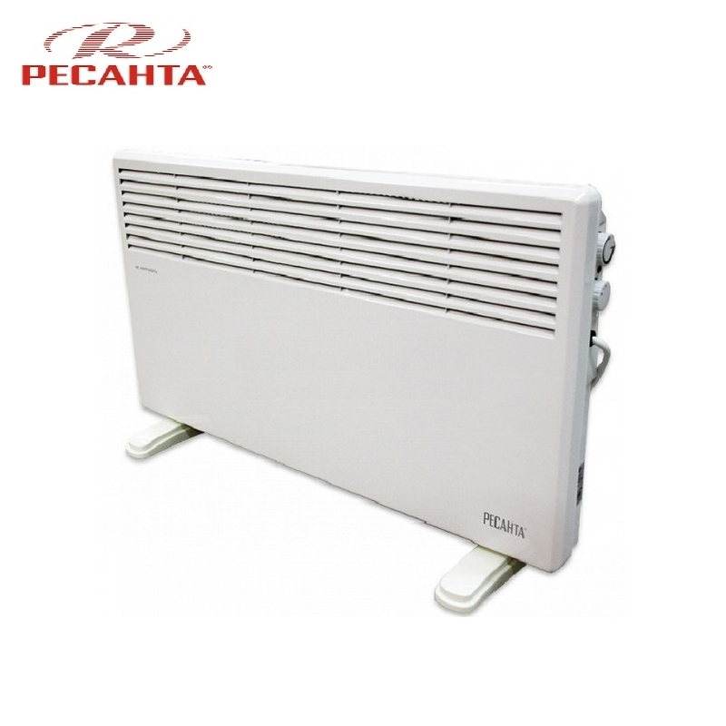 Convector RESANTA OK-1500CN Heating device Electroconvector Forced convection heater Wall-hung convector Mechanical converter convector resanta ok 1000