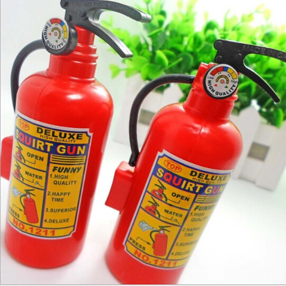 New Exotic Toys Boy Girl Plastic Water Gun Sprinkler Fire Extinguisher Style Creative Funny Toys Water gunToy Gift