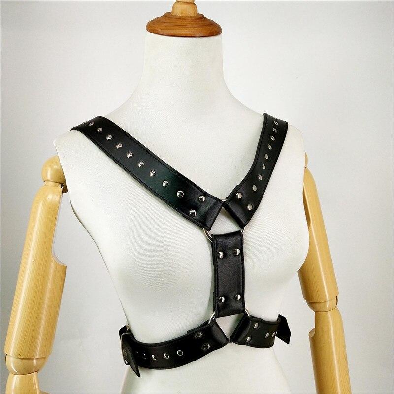 Harness Lingerie gg Belt Arnes Mujer The Shoulder Belt Men Bondage Pastel Goth Fantazi Seks Rave Suspenders Ceinture Homme Punk