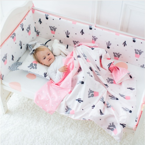 Cotton Baby Bumper Fashion Hot Crib Bumper Infant Bed Baby Bed Bumper Safe Protection For Baby Use 120cm*30cm 1pcs bumper only fashion hot crib bumper infant bed baby bed bumper grey stars safe protection for baby use infant cradle guard