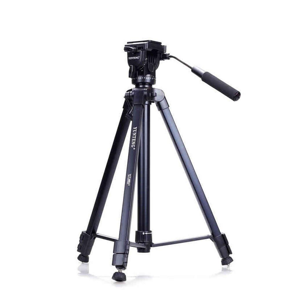 Yunteng 860 lightweight Professional Portable Travel Camera Holder Tripod&Pan Head for SLR DSLR Digital Camera new professional aluminum alloy yunteng vct 668 tripod for slr dslr camera maximum load 3kg with carry bag