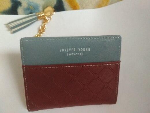 небольшой бумажник женщин; Основной материал:: ПУ; Стиль: Стиль: Мода; небольшой бумажник женщин;