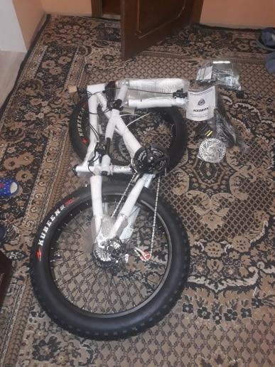 Bicicleta Bicicleta Gordura Polegada