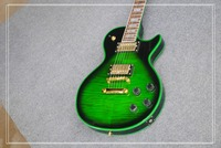 Manufacturer Of Custom Wholesale All Kinds Of Electric Guitar LP Tiger Stripes TBL Color Can