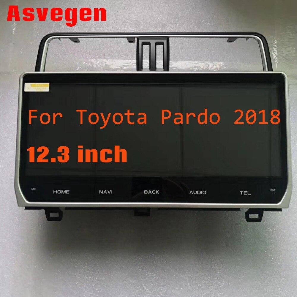 Android 7 1 font b Car b font font b Radio b font For Toyota Land
