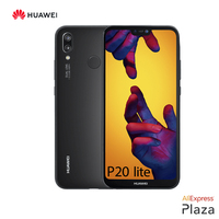 Smartphone Huawei P20 Lite Official Warranty (RAM 4 hard GB + ROM 64 hard GB, phone, Free Cell, new, Camera 24MP) [Spanish Version]