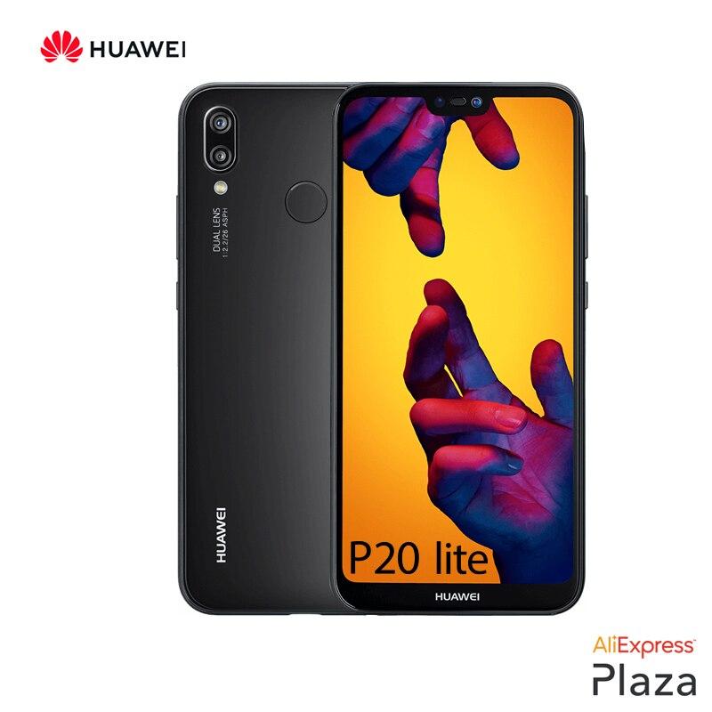 Smartphone Huawei P20 Lite garantie officielle (RAM 4 go dur + ROM 64 go dur, téléphone, portable gratuit, neuf, appareil photo 24MP) [Version espagnole]