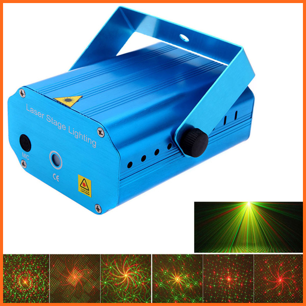 Mini LED Laser Projector Christmas Decorations Laser Disco Light Laser Light Dj Voice-activated DJ Disco Xmas Party Club Light mini led laser projector christmas decoration laser disco light stage effect light dj voice activated ktv xmas party music light