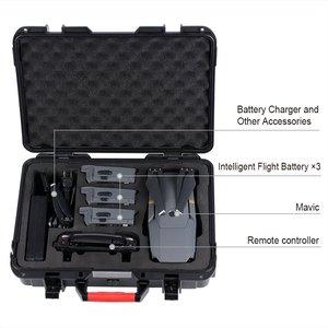 Image 2 - Smatree D600 Carry Case for DJI Mavic Pro  Waterproof Mavic Pro Hard Shell Box Compact Drone Storage Suitcase