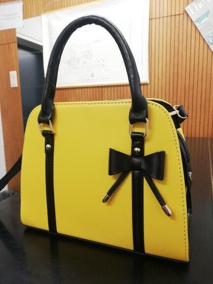 2019 Korean version of the new Korean bow handbag ladies shoulder diagonal bag photo review