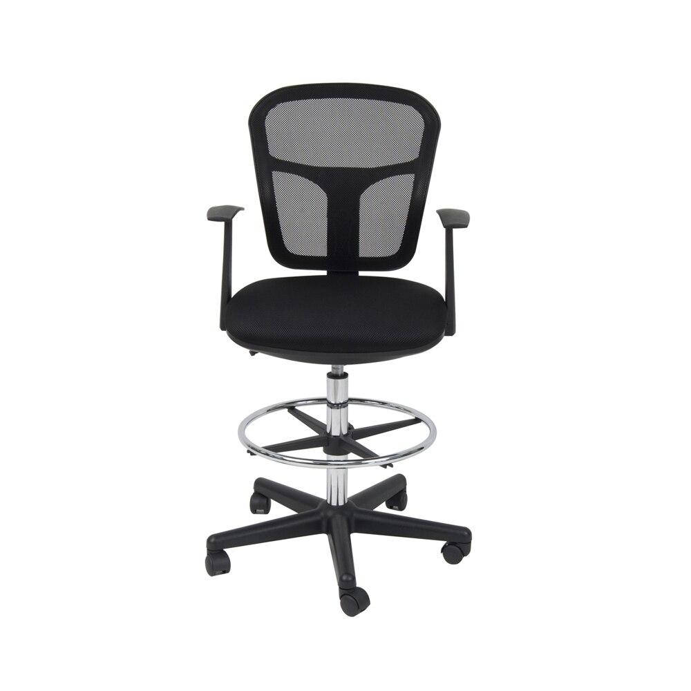 купить Offex Home Office Riviera Drafting Chair - Black недорого