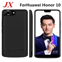 6500 mah For Huawei Honor 10 Battery Case Smart Phone Stand Battery Cover Smart Power Bank For Huawei Honor 10 Charger Case