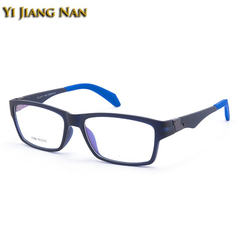 Hombre Frauen Schwarzes Korea Jiang Optische Brillen blau Tr90 Nan Gafas Männer Marke Yi Vollrand Sport gray UHxSvqwn