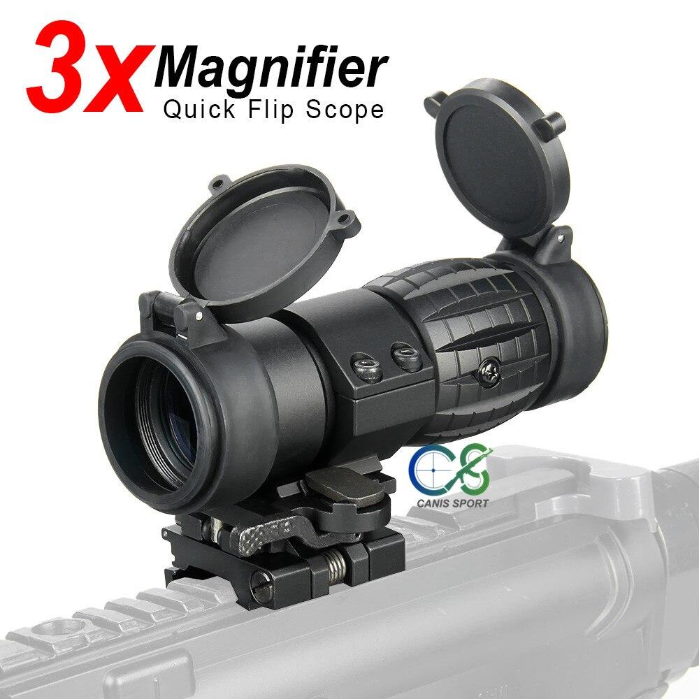 PPT 3X Jagd Umfang 3x Prism Tactical Anblick mit Ballistischen CQ Absehen HAMR 4x24 Zielfernrohr Sniper Scope Airsoft air Guns 1-0309