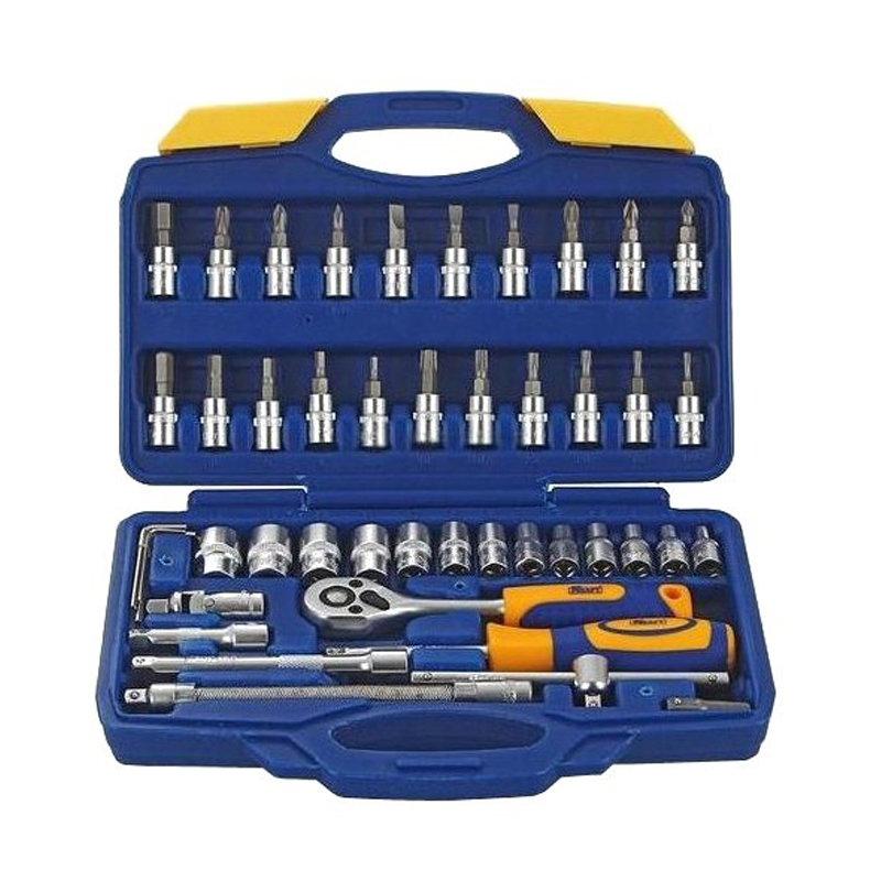 Hand tool set KRAFT CT 700618 46 items