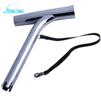 Bobing 316 Stainless Steel Fishing Rod Holder Outrigger Marine Grade Steel Boat Fish Rod Pole Stand