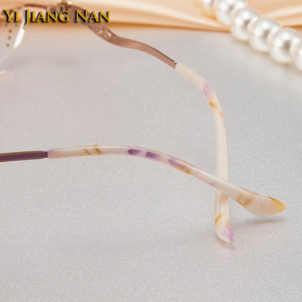 Yi Jiang Nan Brand Women 39 s Frame Prescription Eyeglasses Glasses Tint Brown Lentes Opticos Mujer Eyeglasses Spectacle Frames in Women 39 s Prescription Glasses from Apparel Accessories